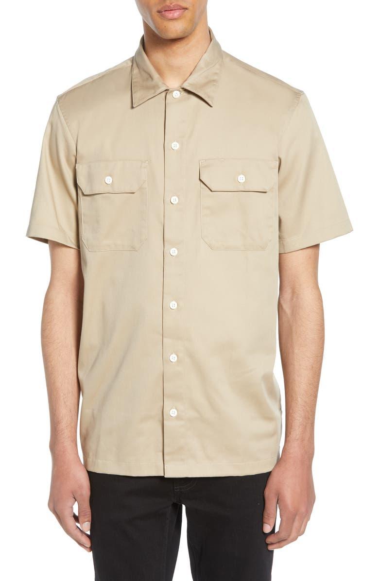 CARHARTT WORK IN PROGRESS Master Woven Shirt, Main, color, WALL