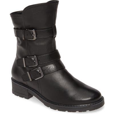 Ara Dallas Moto Boot- Black