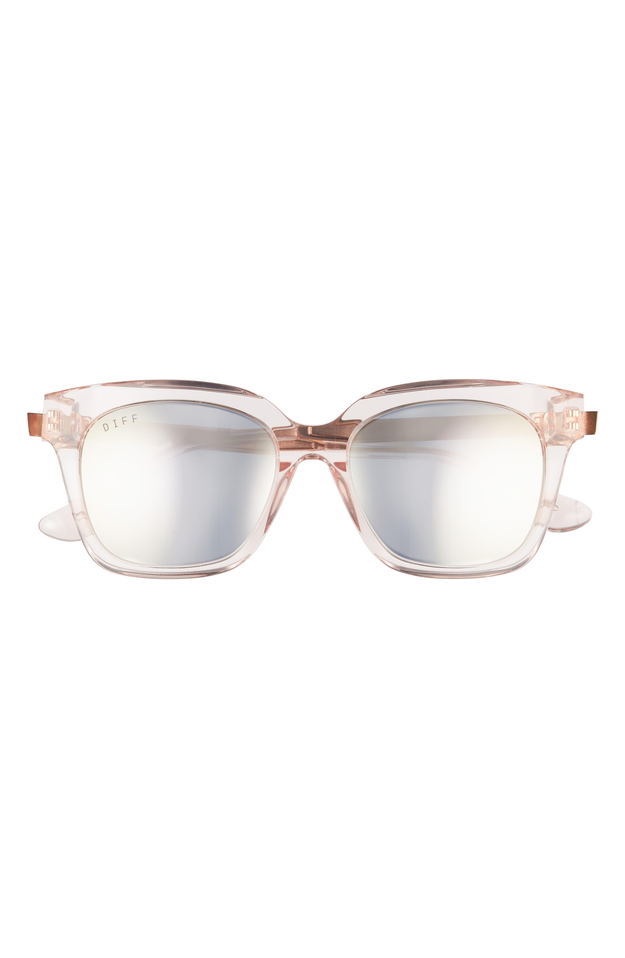 Bella 47mm Small Square Sunglasses