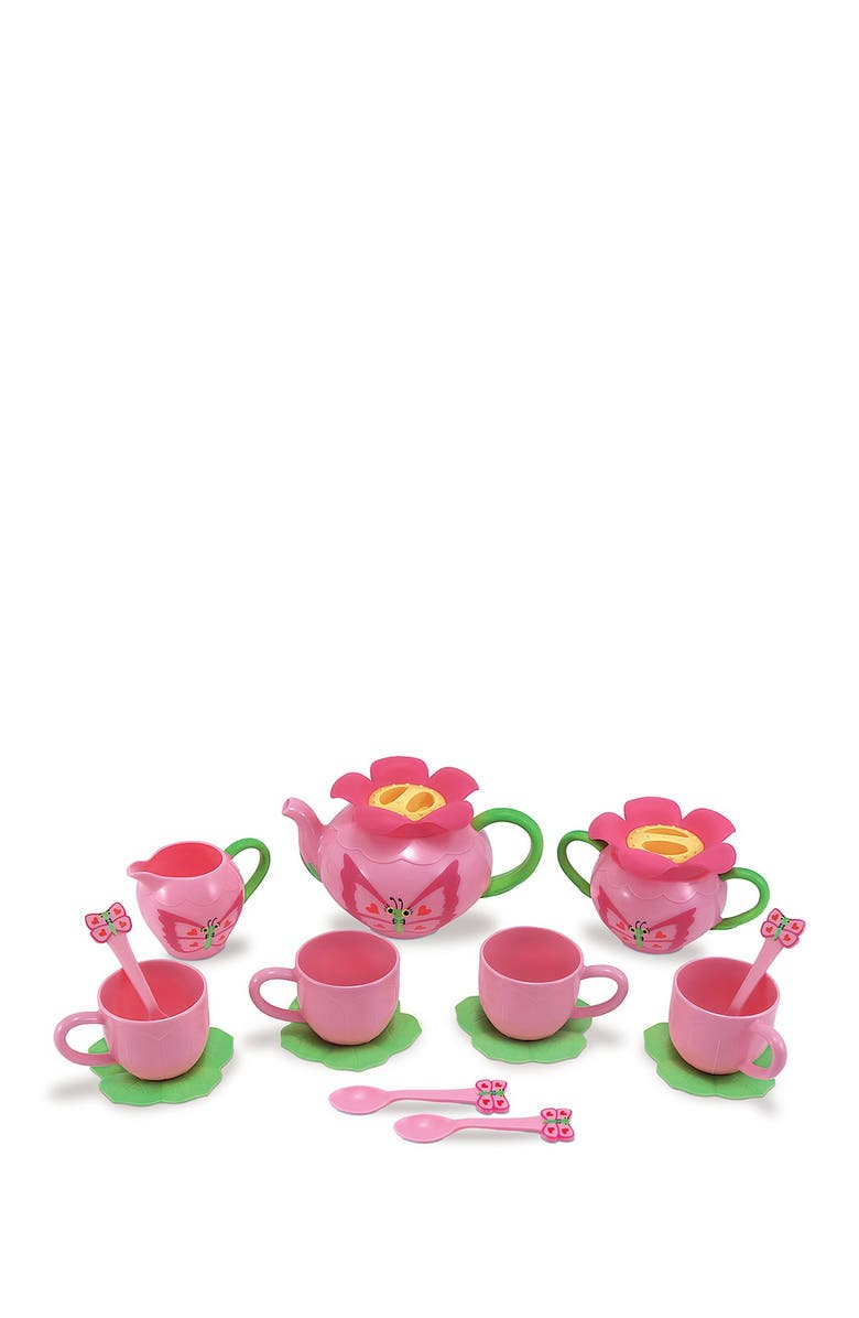 MELISSA AND DOUG Bella Butterfly Tea Set, Main, color, 000