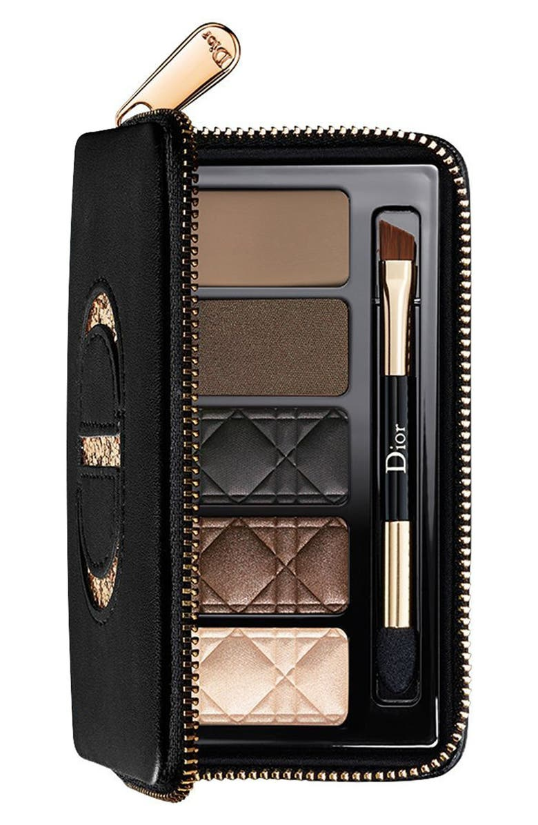 DIOR Total Matte Smoky Glow Palette for Eyes & Brows, Main, color, 200