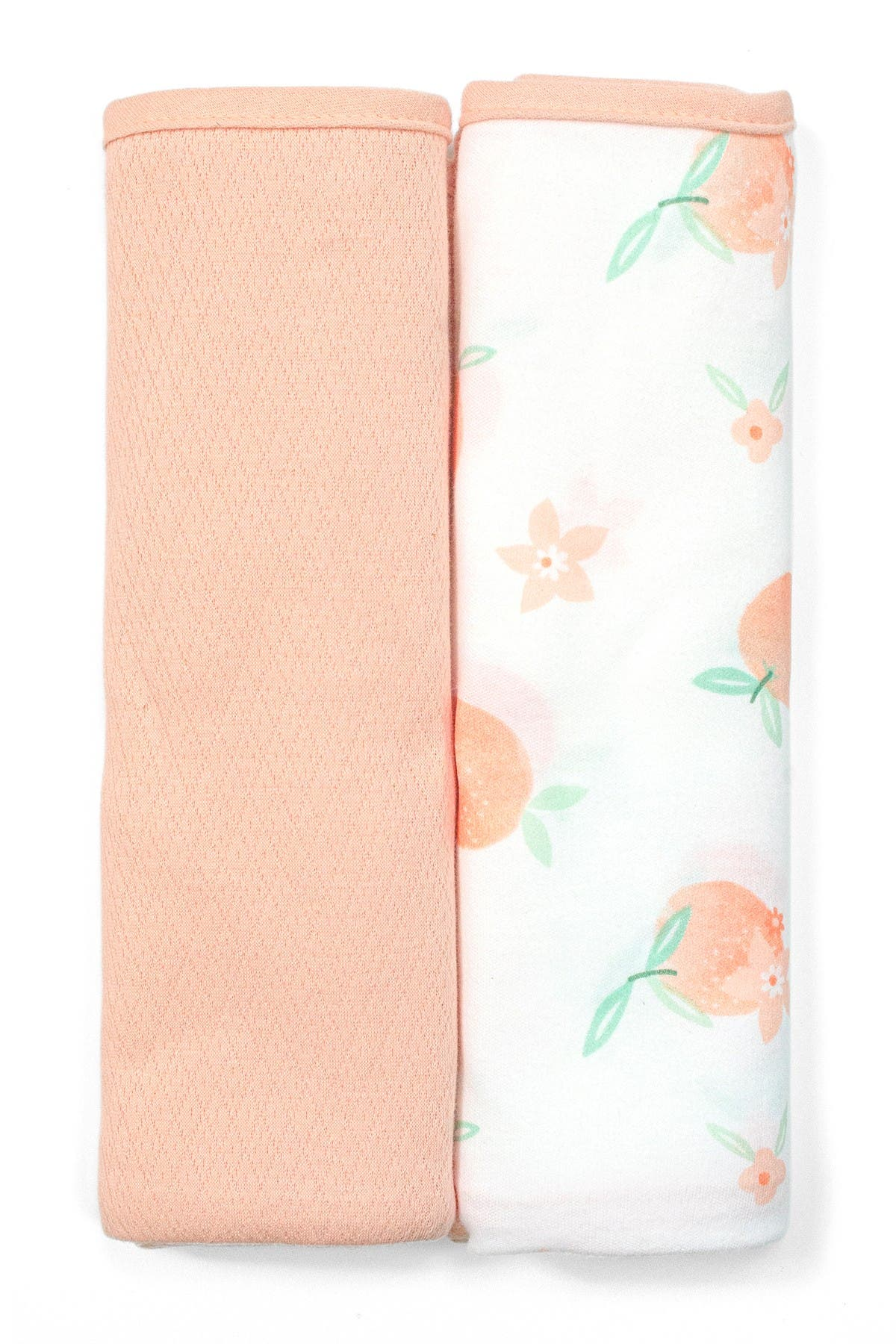 Image of RABBIT AND BEAR ORGANIC Printed Organic Swaddle Blanket - Pack of 2