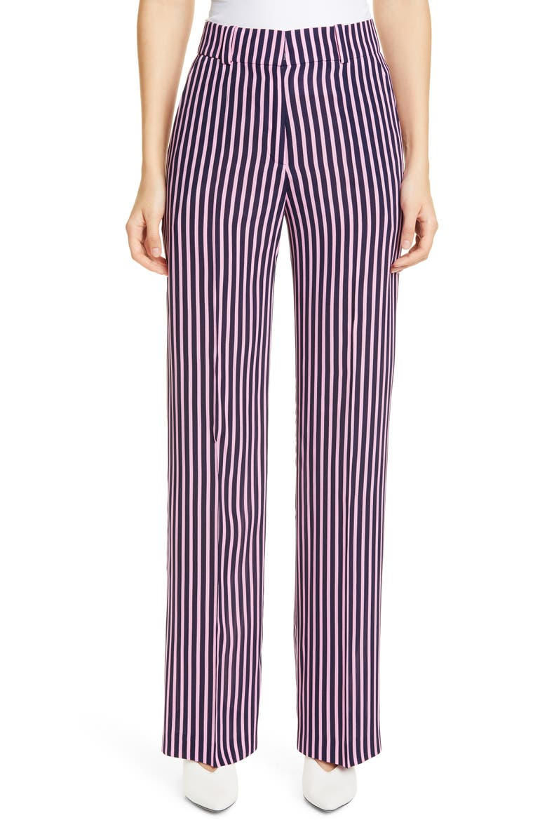 HUGO Hatessi High Waist Pants, Main, color, 400