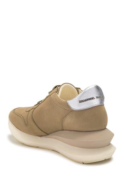 Image of Paloma Barcelo Meissa Platform Leather Sneaker