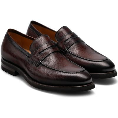 Magnanni Matlin Ii Penny Loafer, Brown