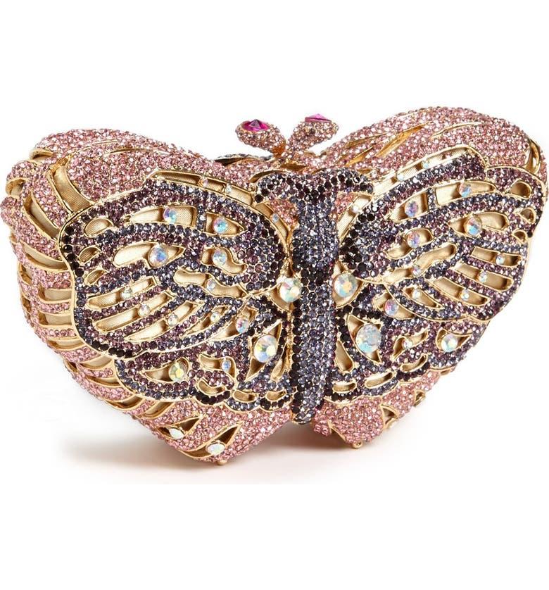 ZZDNU NATASHA COUTURE Natasha Couture 'Butterfly' Clutch, Main, color, 553