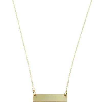 Nashelle Clean Slate Pendant Necklace