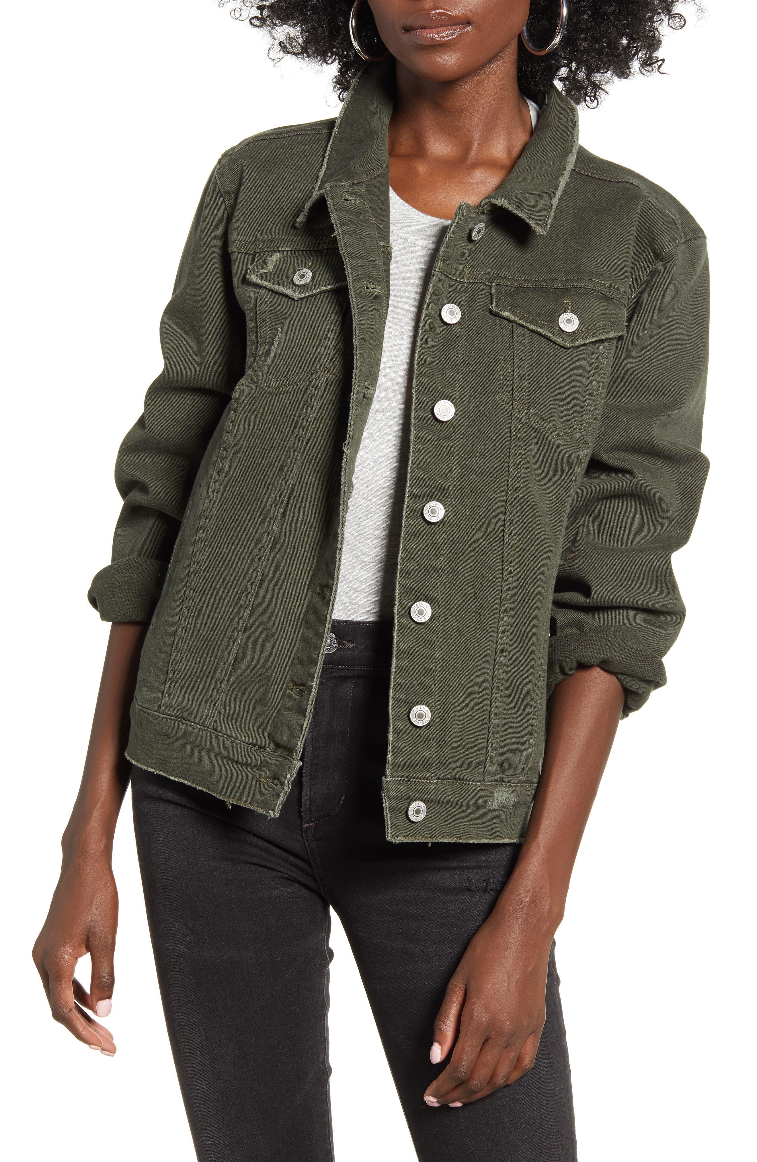 STS Blue Ella Olive Denim Jacket