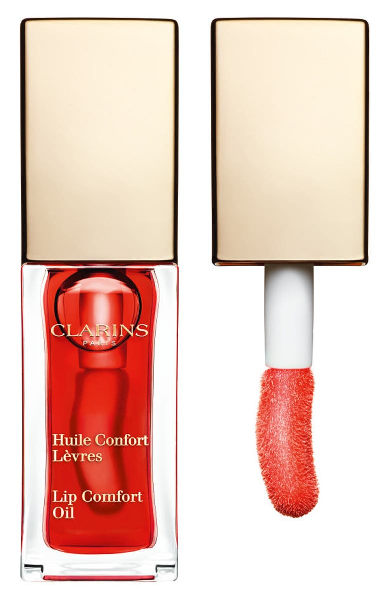CLARINS Lip Comfort Oil, Main, color, 03 RED BERRY