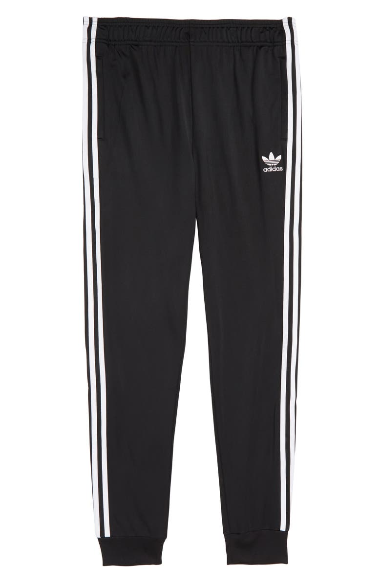 ADIDAS ORIGINALS Superstar Track Pants, Main, color, 001