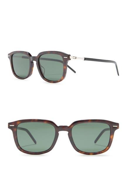 Image of CHRISTIAN DIOR 51mm Technicity Rectangle Sunglasses