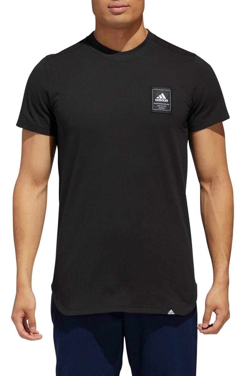 ADIDAS Scoop International T-Shirt, Main, color, 001
