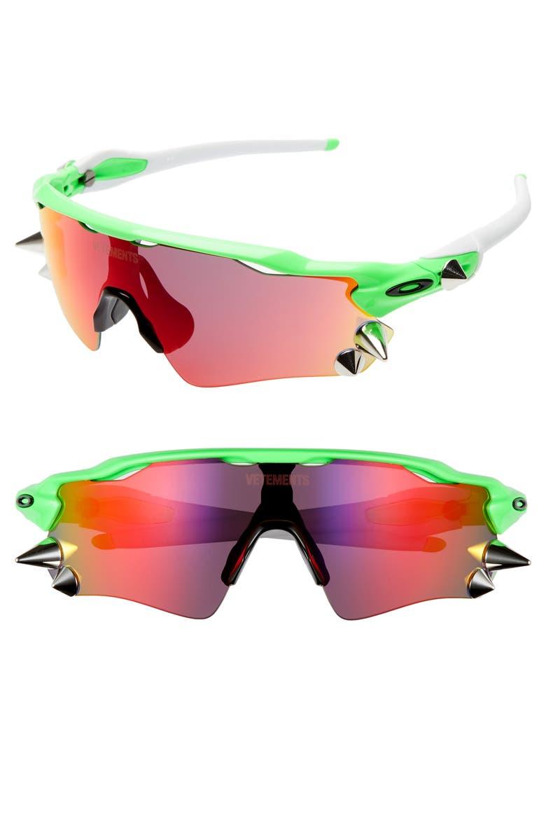VETEMENTS x Oakley Spikes 76mm Sunglasses, Main, color, 800