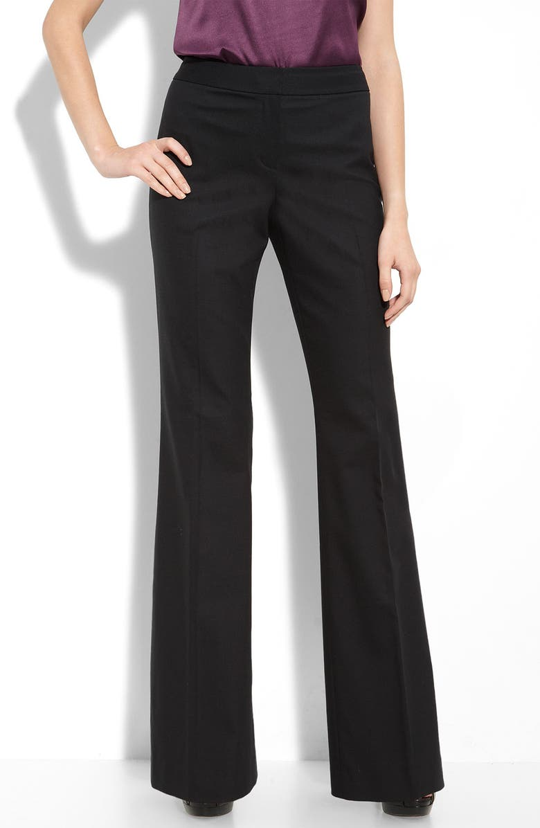 ELIE TAHARI EXCLUSIVE FOR NORDSTROM 'Theora' Pants, Main, color, 001