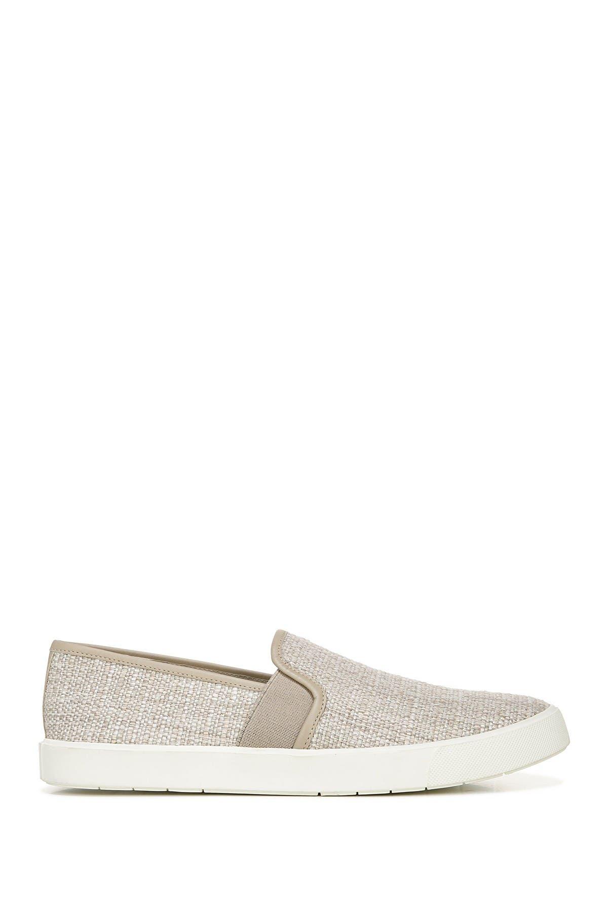 Image of Vince Preston Linen Slip-On Sneaker