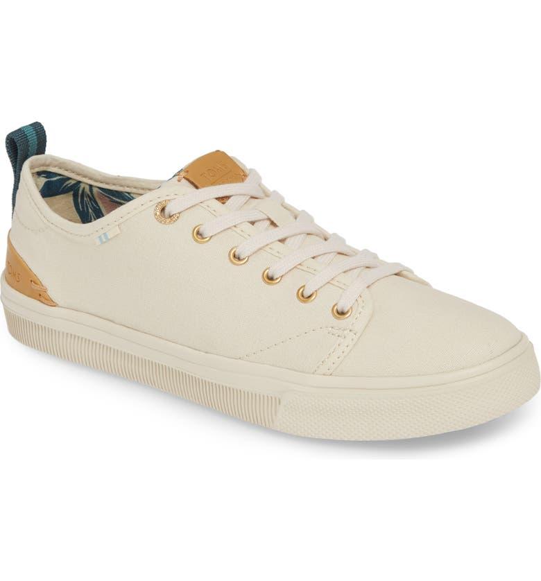 TOMS TRVL Lite Low Top Sneaker, Main, color, BIRCH CANVAS