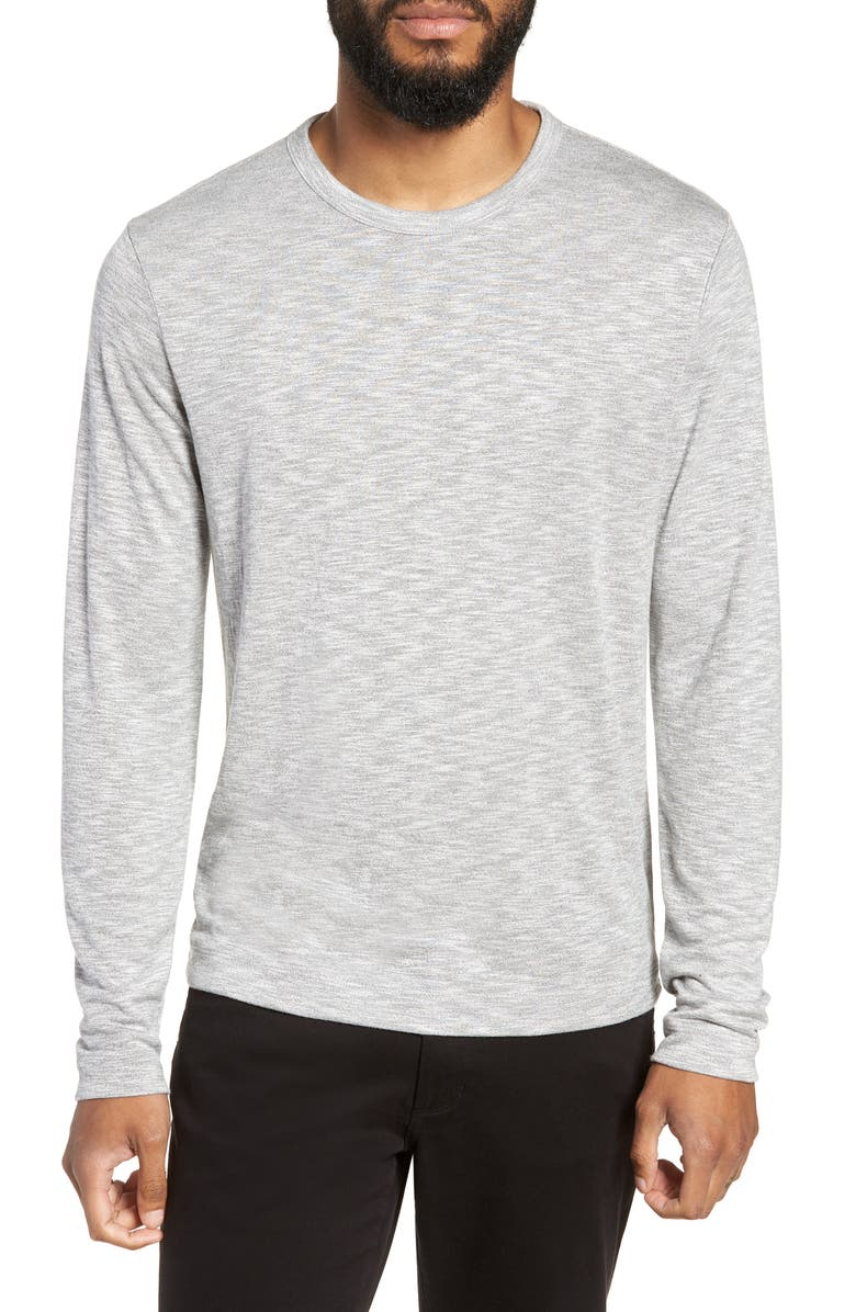 THEORY Gaskell Regular Fit Long Sleeve T-Shirt, Main, color, 067