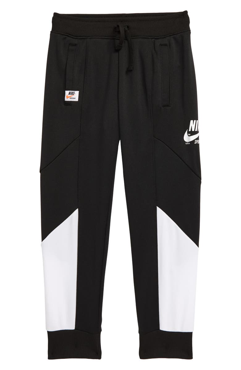 NIKE Sportswear Heritage Sweatpants, Main, color, 001