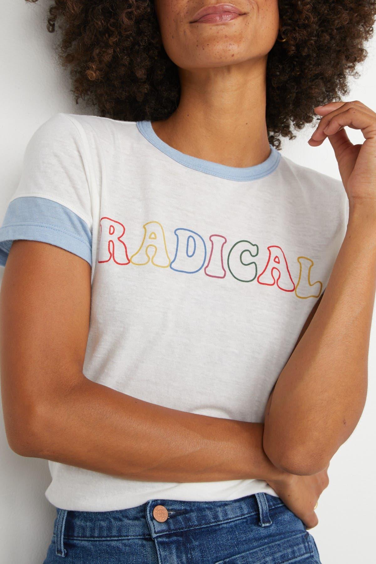 Image of Marine Layer Radical Graphic Ringer T-Shirt