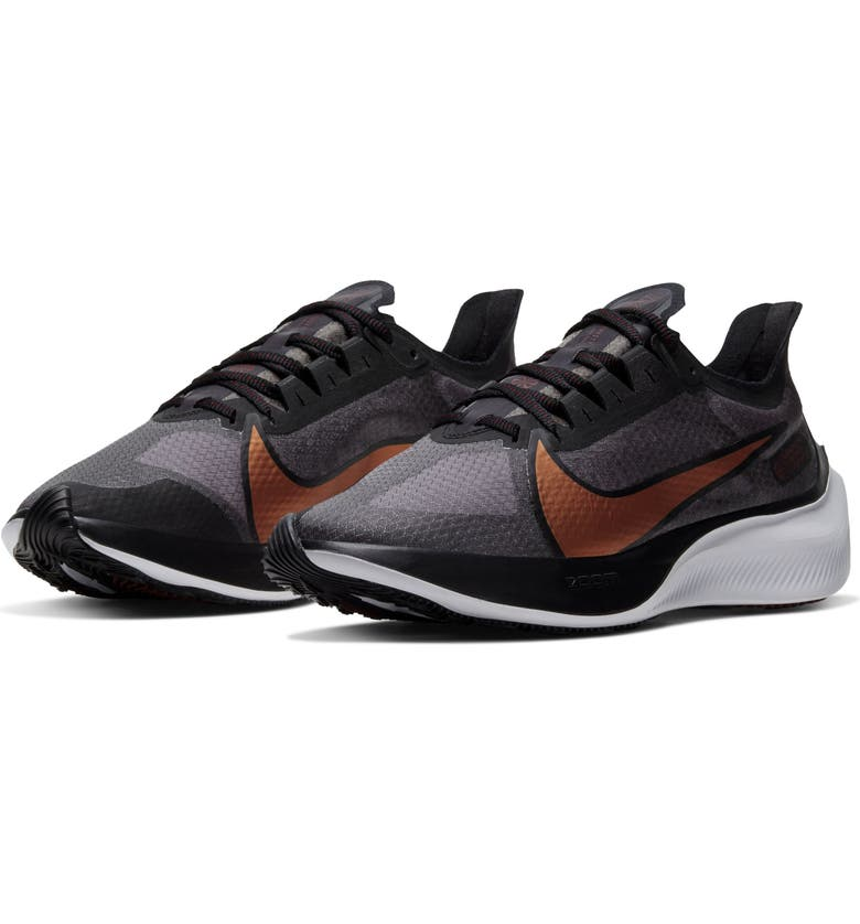 NIKE Zoom Gravity Running Shoe, Main, color, BLACK/ BURGUNDY/ RED/ COPPER