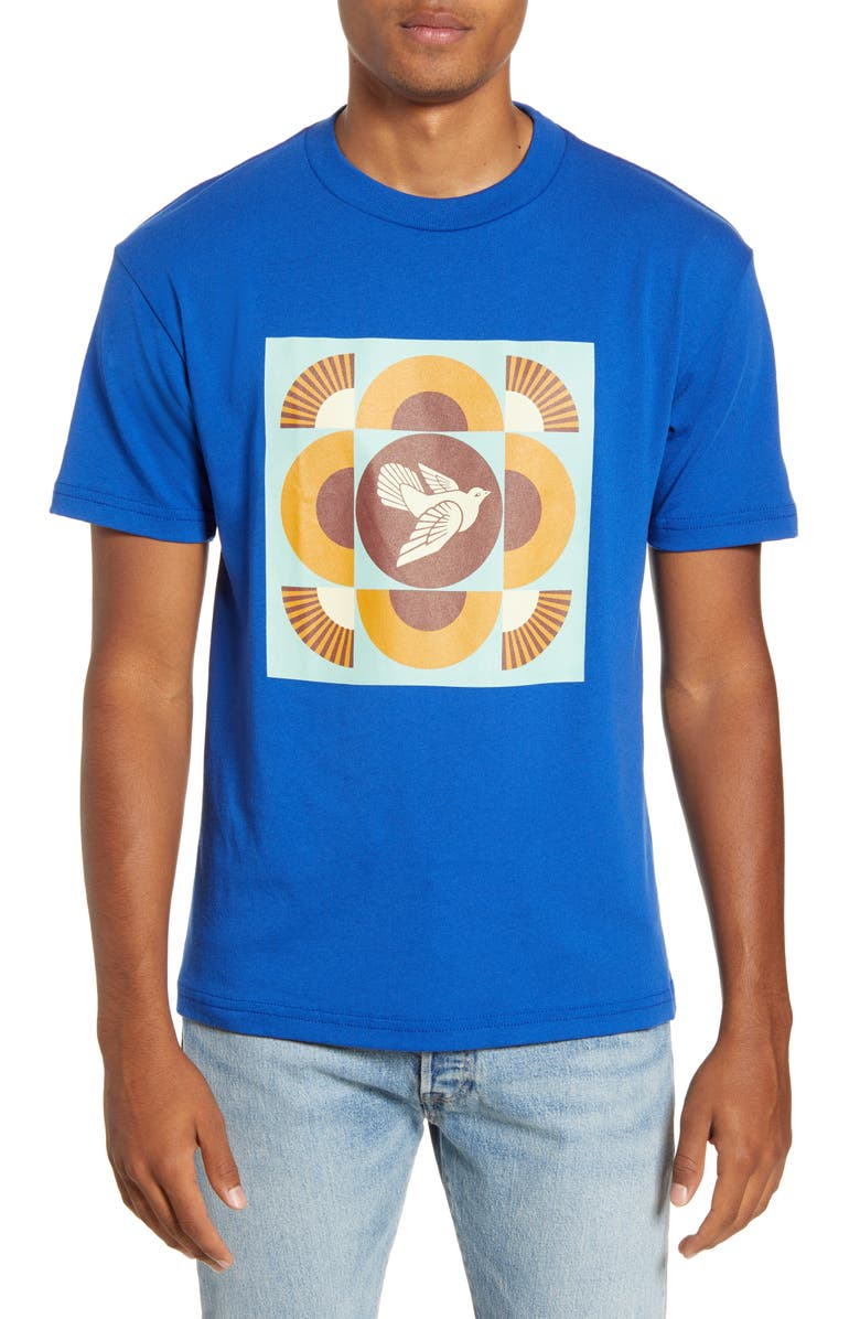 OBEY Dove Graphic T-Shirt, Main, color, 435
