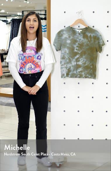 Linda Tie Dye Boxy Organic Cotton T-Shirt, sales video thumbnail