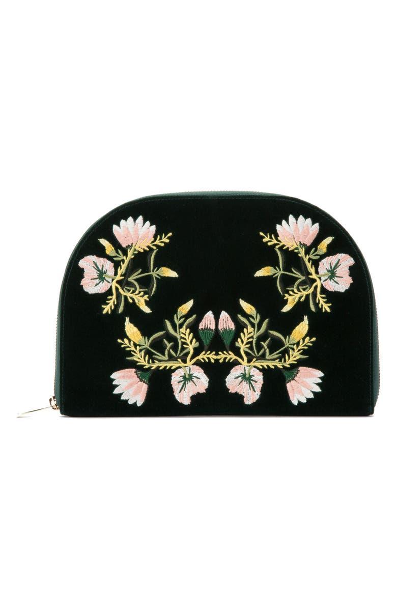 WOLF Zoe Jewelry Portfolio, Main, color, FOREST GREEN