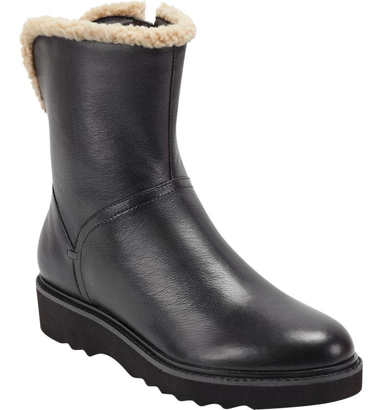 EVOLVE Honor Waterproof Boot, Main, color, BLACK LEATHER