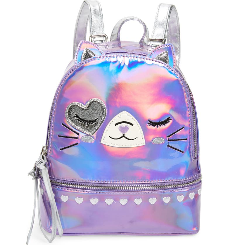 UNDER ONE SKY Mini Cat Backpack, Main, color, PINK CAT