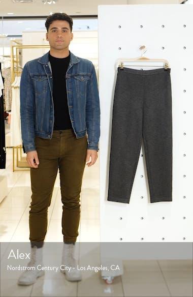 Bird's Eye Double Knit Crop Pants, sales video thumbnail