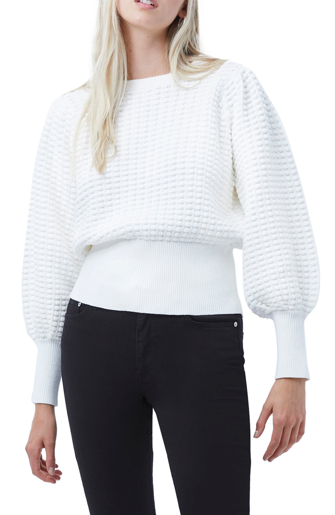 French Connection Mozart Popcorn Sweater   Nordstrom