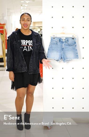 Le Brigette Denim Shorts, sales video thumbnail