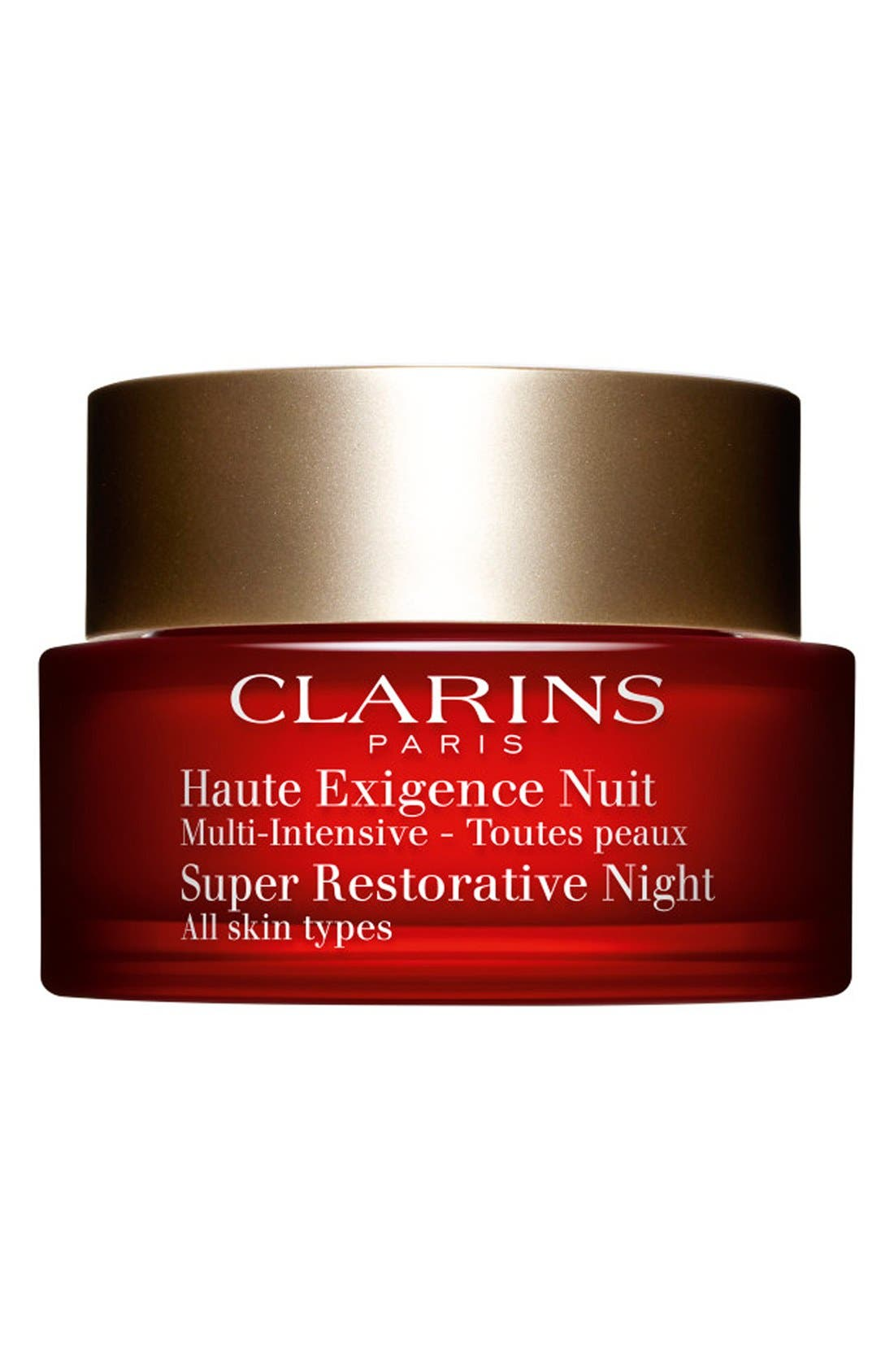 Super Restorative Night Wear Cream, Main, color, NO COLOR