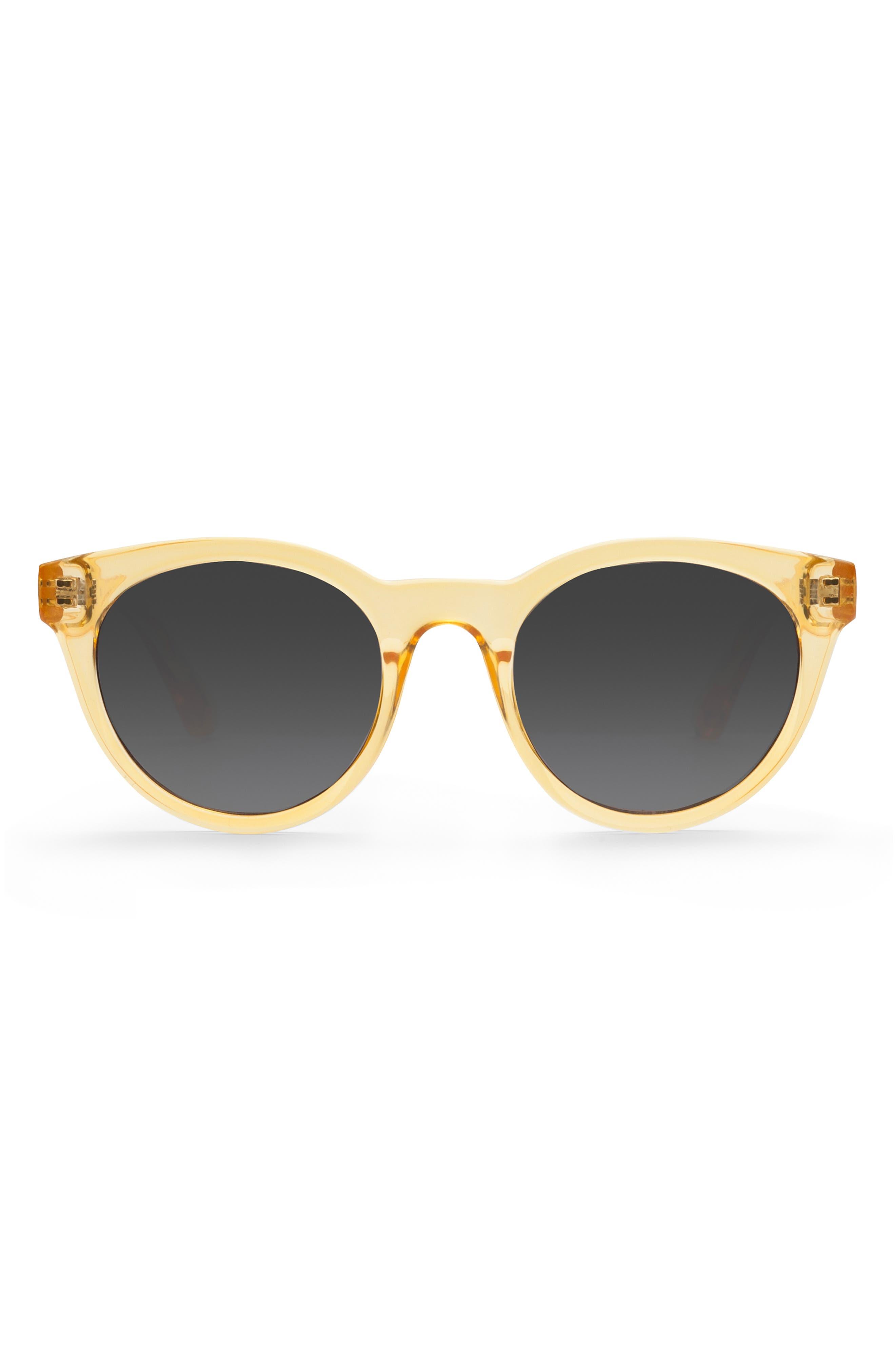 Junia Fizz Preppy 4m Round Sunglasses - Crystal Yellow