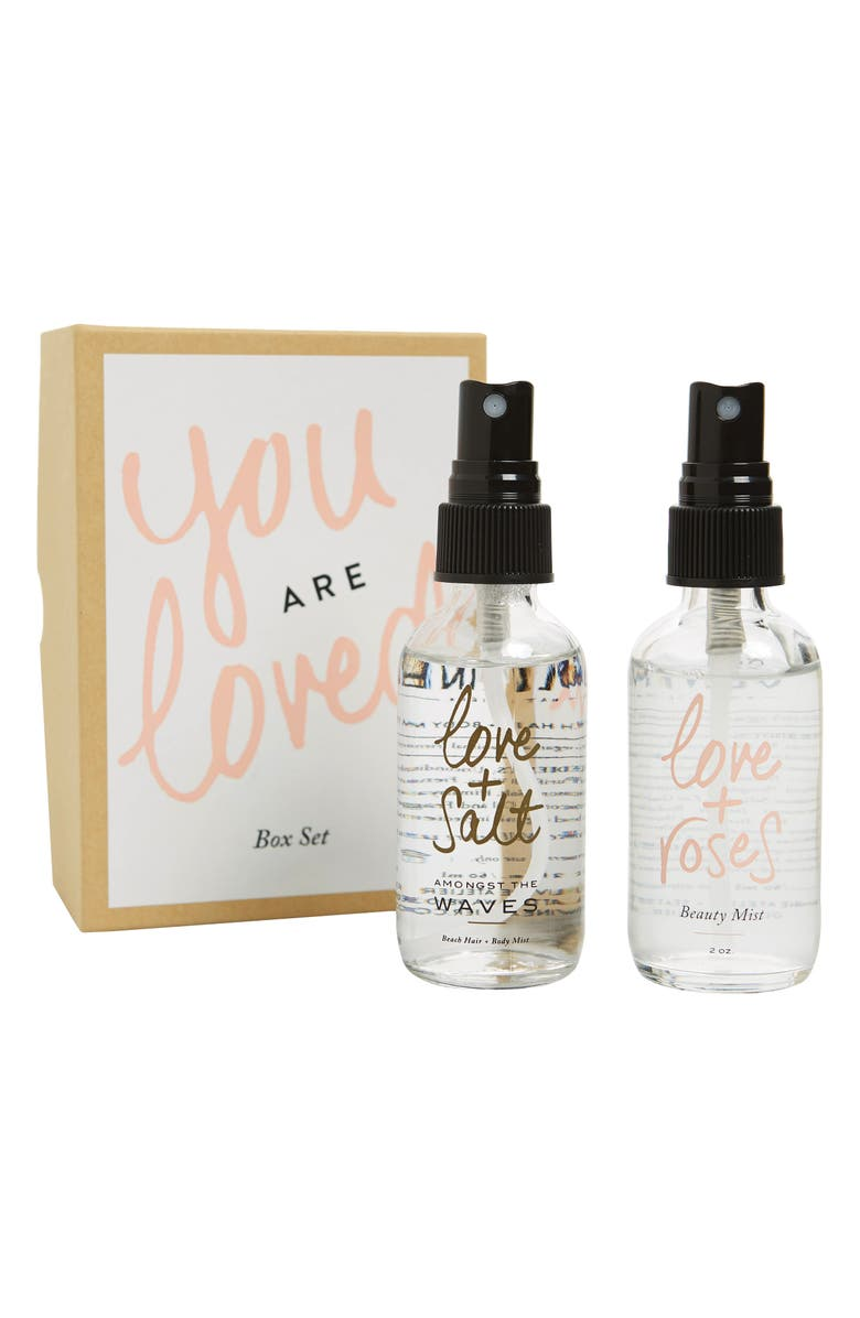 OLIVINE ATELIER You are Loved Beauty Mist Set, Main, color, 100