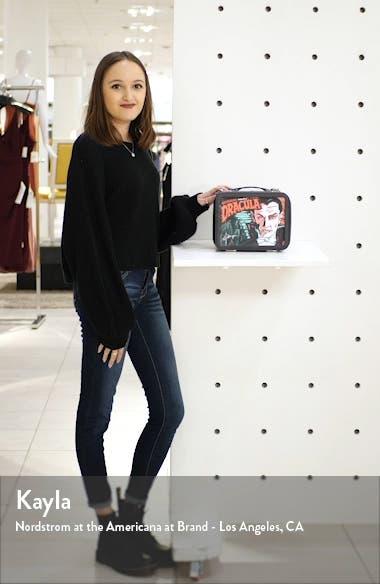 x Universal Dracula Faux Leather Lunchbox Bag, sales video thumbnail