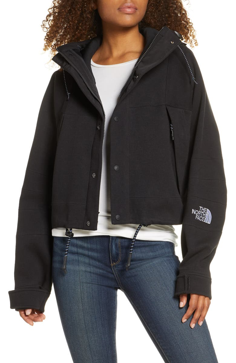 THE NORTH FACE Black Series Spacer Knit Jacket, Main, color, BLACK