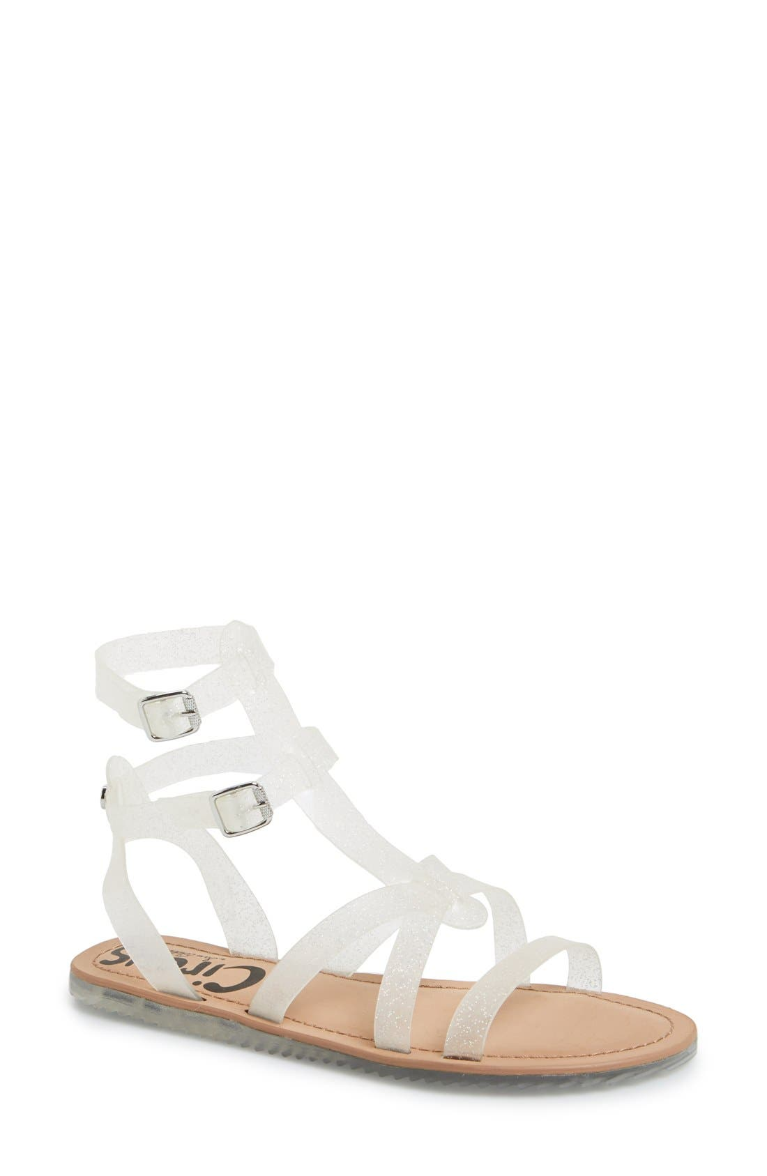 ,                             'Selma' Gladiator Sandal,                             Main thumbnail 5, color,                             040