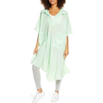 Adidas Originals Hooded Poncho, Green