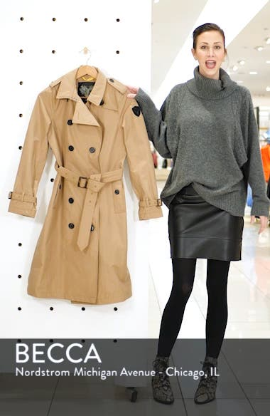 Poppy Waterproof Trench Coat, sales video thumbnail