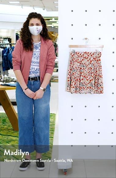 Simply Short Print Skater Skirt, sales video thumbnail