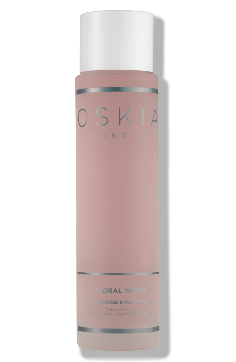 OSKIA SPACE.NK.apothecary OSKIA Floral Water Toner, Main, color, NO COLOR
