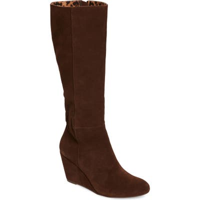 Seychelles Star Of The Show Wedge Knee High Boot, Brown
