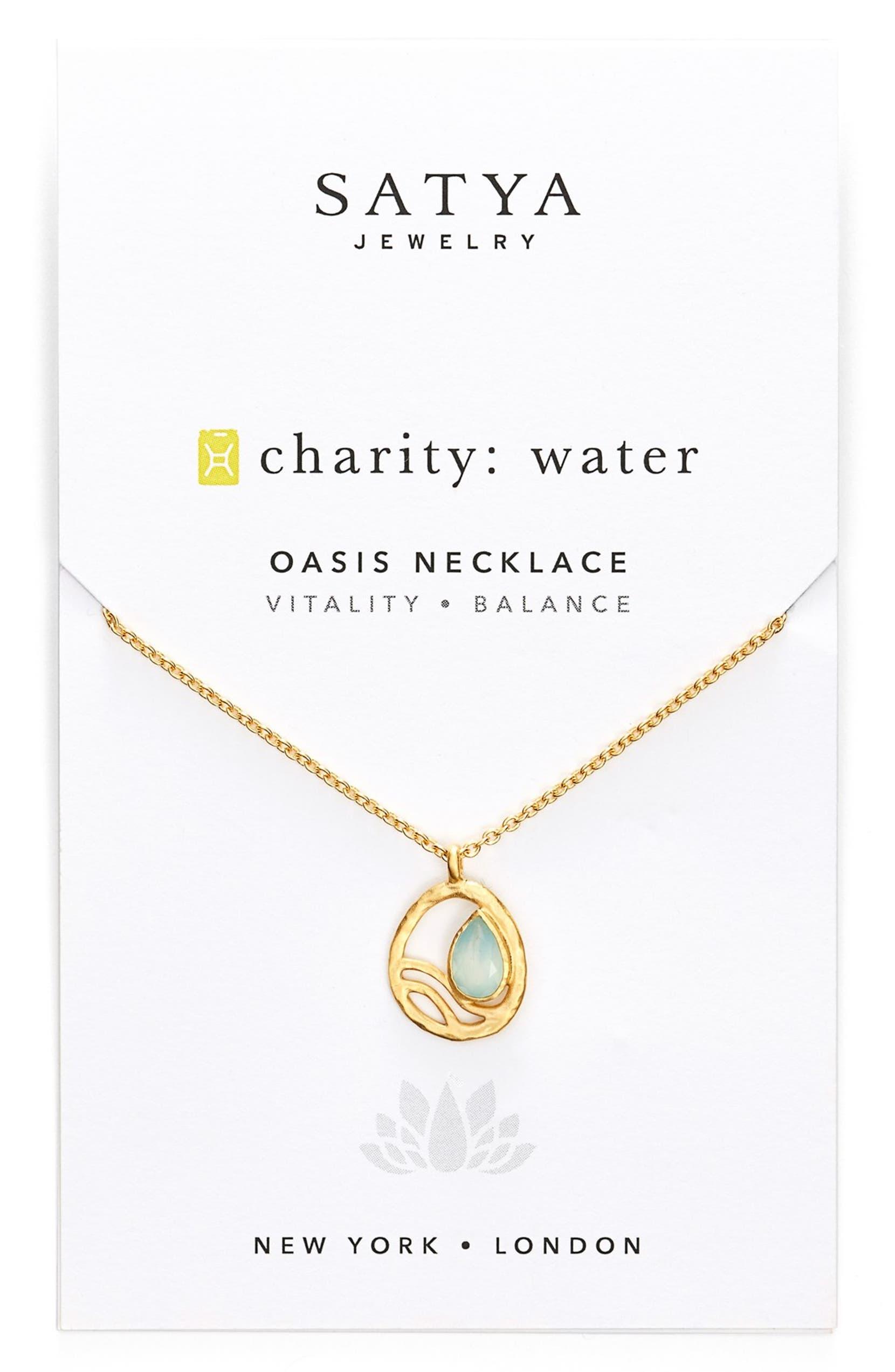 'Oasis' Pendant Necklace