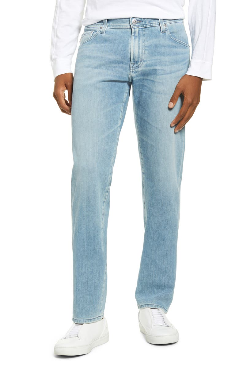 AG Graduate Slim Straight Leg Jeans, Main, color, CONVOY