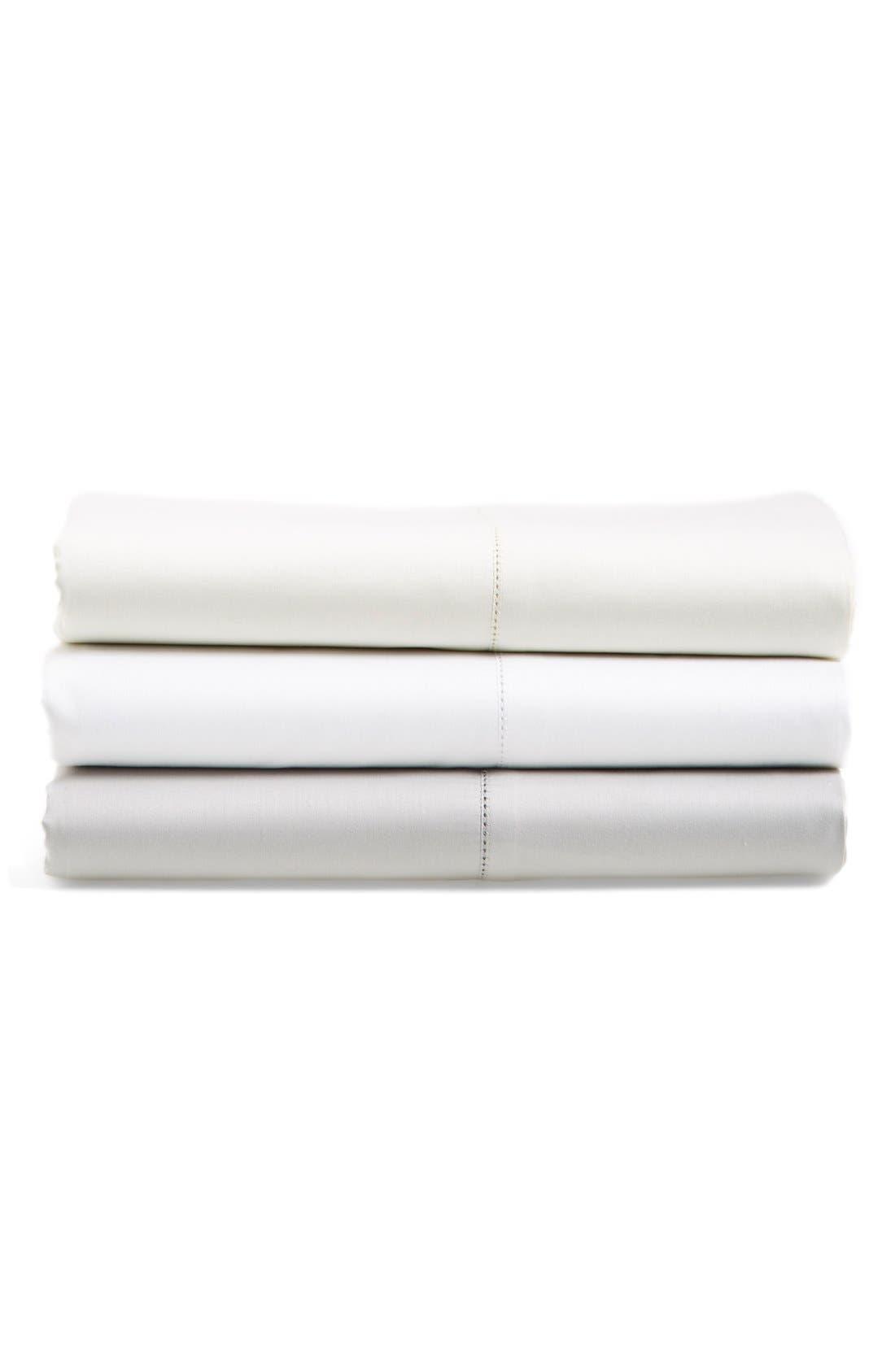 ,                             600 Thread Count Egyptian Cotton Single Sheets,                             Alternate thumbnail 3, color,                             GREY VAPOR