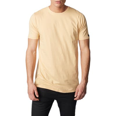 Zanerobe Solid Flintlock Longline T-Shirt, Yellow