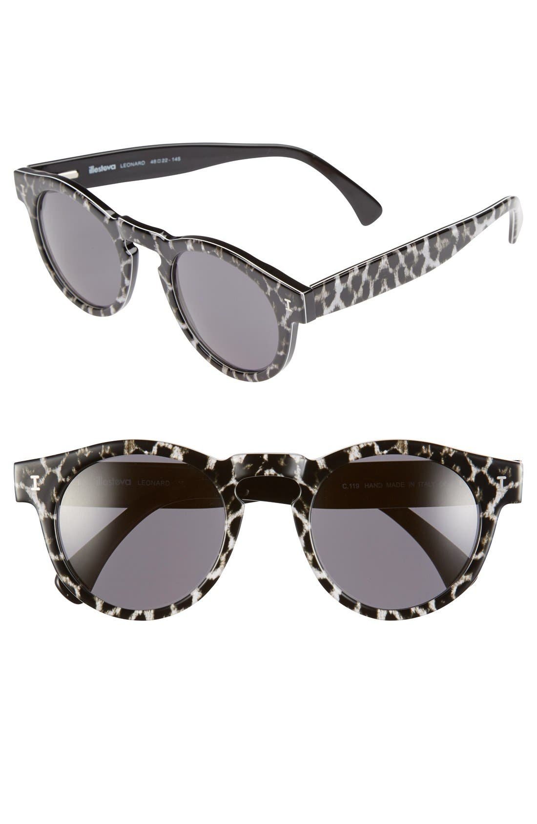 ,                             'Leonard' 47mm Sunglasses,                             Main thumbnail 19, color,                             012