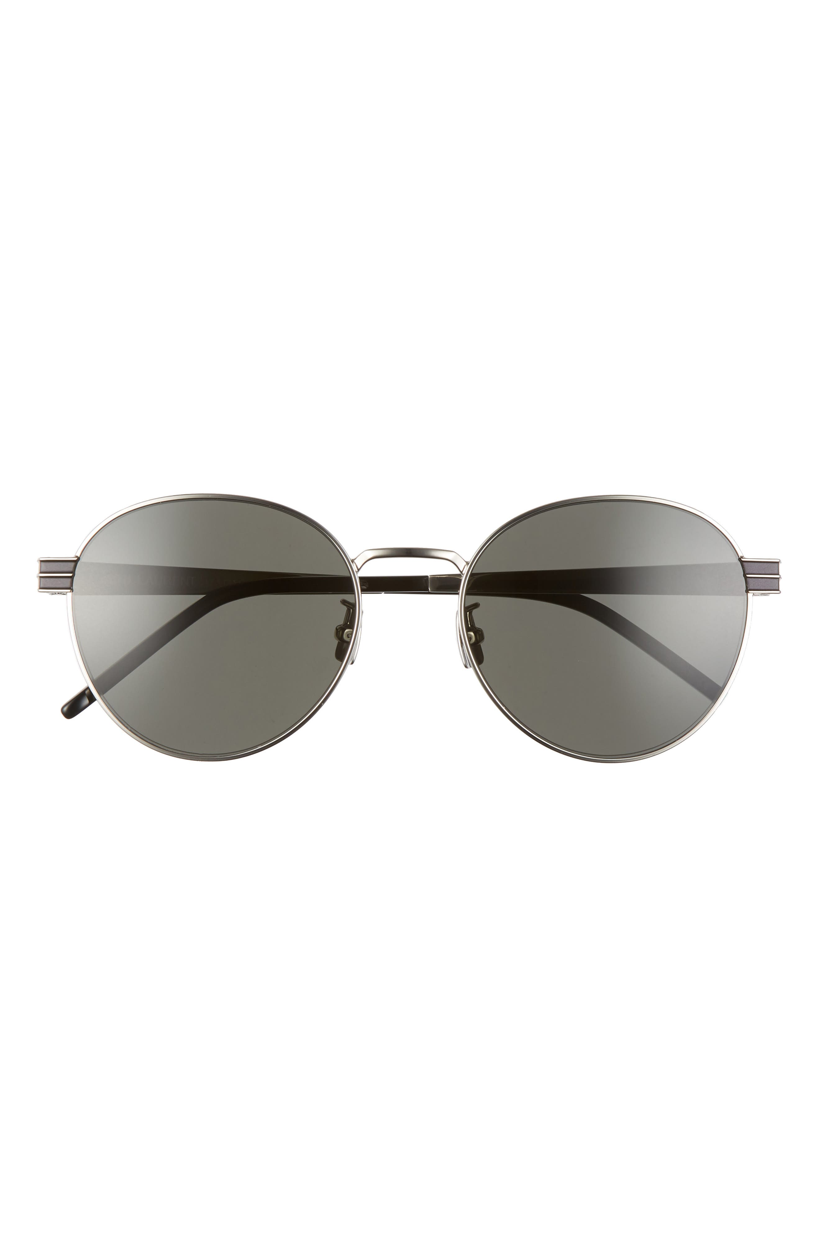 Polarized sunglasses cut the glare and ensure you sail into sunny days with timeless style. Style Name: Saint Laurent 55mm Oval Sunglasses. Style Number: 5991944. Available in stores.