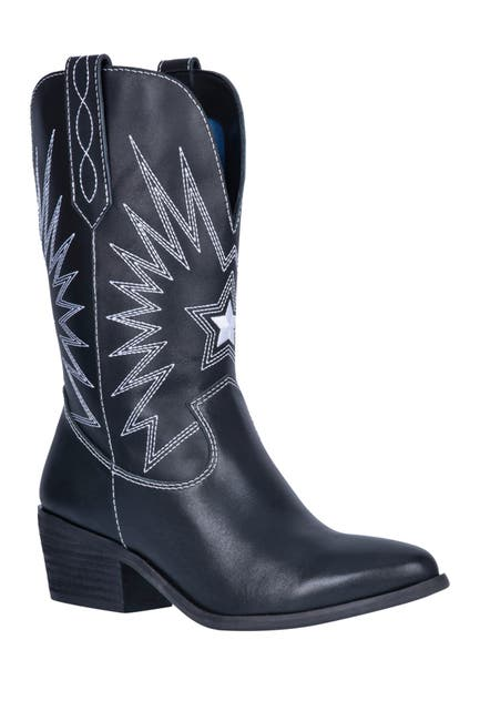 Image of DINGO Rockstar Leather Western Boot
